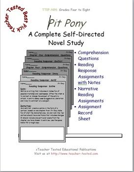 Pit Pony: A Complete Novel Study