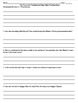 Pit and the Pendulum by Edgar Allan Poe Questions, Vocabulary, Worksheets