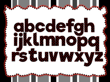 Halloween Theme: 100 Alphabet, Numbers and Symbols clip arts