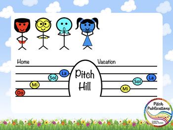 Pitch Hill: Introduce Do {FLIPCHART} - Practice Do, Mi, Sol, La