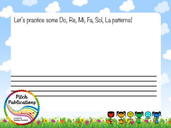 Pitch Hill: Introduce Fa {FLIPCHART} - Practice Do, Re, Mi, Fa, Sol, and La