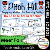 Pitch Hill: Introduce Fa {FLIPCHART} - Practice Do, Re, Mi