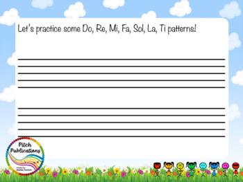 Pitch Hill: Introduce Super Do {FLIPCHART} - Do, Re, Mi, Fa, Sol, La, Ti, Do