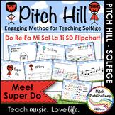Pitch Hill: Introduce Super Do {FLIPCHART} - Do, Re, Mi, F