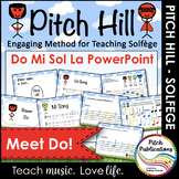 Pitch Hill: Introduce Do {POWERPOINT} - Practice Do, Mi, Sol, La