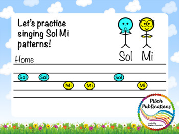 Pitch Hill: Introduce Sol Mi {POWERPOINT} *** FREE***