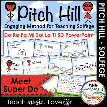 Pitch Hill: Introduce Super Do {POWERPOINT} - Do, Re, Mi, Fa, Sol, La, Ti, Do
