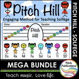 Pitch Hill: {GROWING MEGA BUNDLE} - Teaching Solfege through Storytelling!