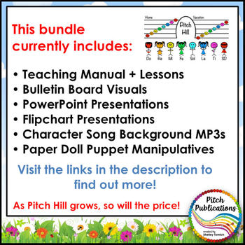 Pitch Hill: {MEGA BUNDLE} - Teaching Solfege through Storytelling!