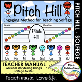 Pitch Hill: Method for Teaching Solfege - Teacher's Manual + 19 Music Lessons