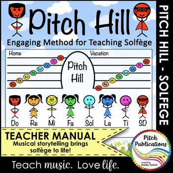 Pitch Hill: Method for Teaching Solfege - Teacher\'s Manual + 19 ...