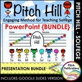 Pitch Hill: PowerPoint {BUNDLE} - Practice Do Re Mi Fa Sol