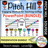 Pitch Hill: PowerPoint {BUNDLE} - Practice Do Re Mi Fa Sol