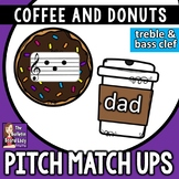 Pitch Matching Cards: Coffee and Donuts