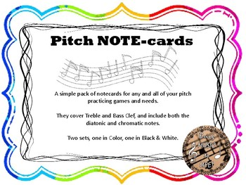 Pitch NOTEcards