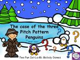 Music Game: Pitch Pattern Penguins {Sol-La-Mi}