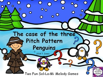 Music Game: Pitch Pattern Penguins {Sol-La-Mi}