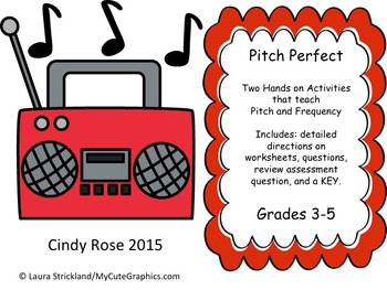 Pitch Perfect Sound Hands On Activity