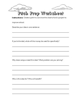 Pitch and Persuade - Exercises for Young Entrepreneurs
