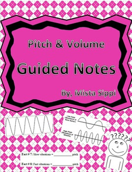 Pitch and Volume Guided Notes