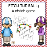 Pitch ch/tch Phonics Game