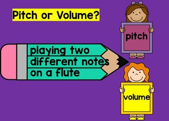Pitch or Volume? Boom Cards