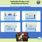 Pitches on the Treble Staff Boom Cards™ for Distance Learning