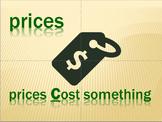 Pitfalls to Avoid - Prices vs Prizes