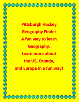 Pittsburgh Hockey Geography Finder