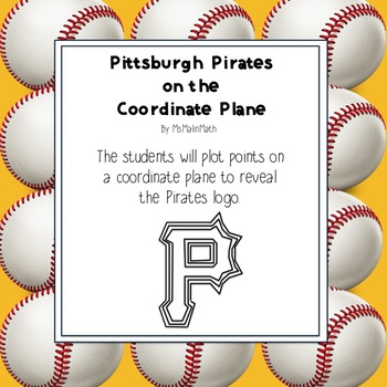 Pittsburgh Pirates Logo on the Coordinate Plane