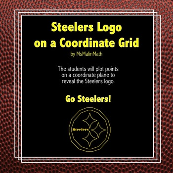Pittsburgh Steelers Logo on the Coordinate Plane