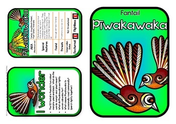 Piwakawaka - New Zealand Fantail {Make & Do Activity Pack}