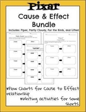 Pixar Bundle for Cause and Effect -Piper, For the Birds, Lifted, & Partly Cloudy