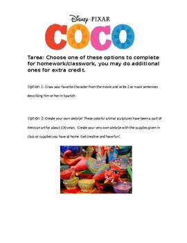 Pixar Coco 4 activities