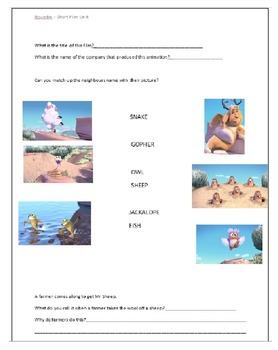 Pixar Short Film - Boundin - Workbook