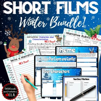 Pixar Short Film Workshops: Digital/Printable Bundle: Plot, Setting,Conflict, et