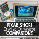 Pixar Shorts *Graphic Organizer* Companion (Perfect for Distance Learning)