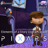 Pixar's Challenge: Elements of Story: ELA Digital Escape: