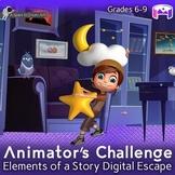 Pixar's Elements of Story: ELA Digital Middle School Escape
