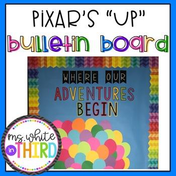 Pixar's Up Bulletin Board Letters