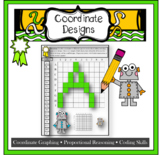 Pixel Art Alphabet - Develop coding and Algebra skills through coordinate graphs
