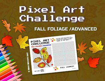 Pixel Art Challenge: Fall Foliage Harvest/Thanksgiving Themed