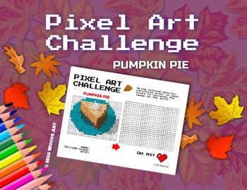 Pixel Art Challenge: Pumpkin Pie Thanksgiving