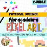 Pixel Art Digital Reviews for Physical Science Bundle