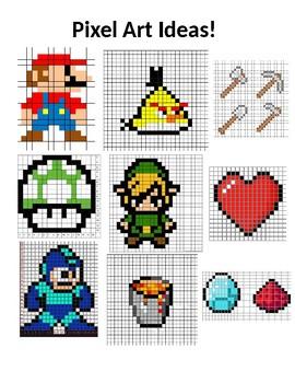 Pixel Art Ideas!