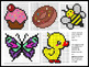 Pixel Art Interactive White Board Activity Create & Design: Middle School