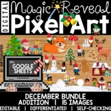 Pixel Art Magic Reveal DECEMBER BUNDLE: ADDITION & SUBTRAC
