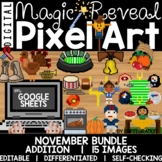 Pixel Art Magic Reveal NOVEMBER BUNDLE: ADDITION & SUBTRAC