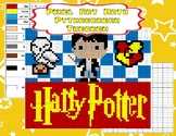 Pixel Art Math - Pythagorean Theorem - Harry Potter