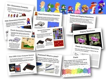 Pixels, Art, & the History of Video Games: Using tech to reinforce math concepts